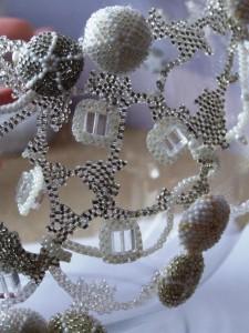 white scaddie close up